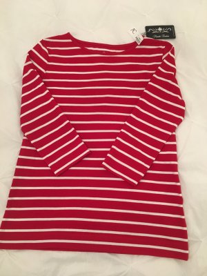 munich freedom Gestreept shirt rood-wit Katoen