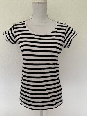 Gestreept shirt zwart-wit