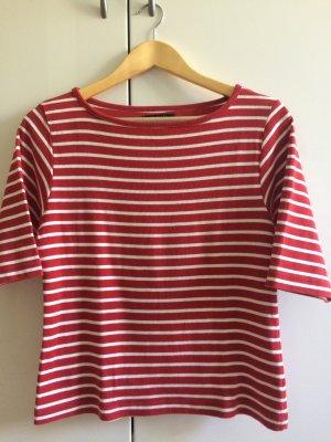 Event Stripe Shirt white-dark red