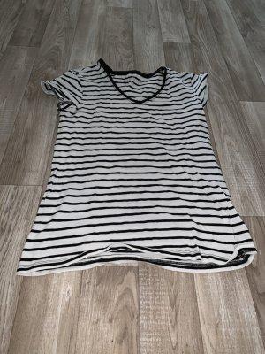 Primark Gestreept shirt wit-zwart