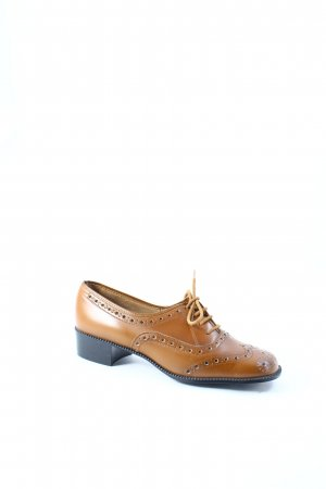Ringo Bell Lace Shoes cognac-coloured vintage products