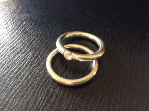 Esprit Silver Ring silver-colored real silver