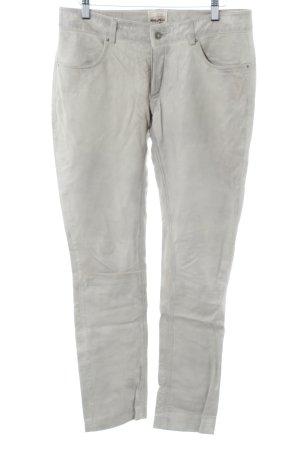 Rino & Pelle Lederhose graugrün Casual-Look