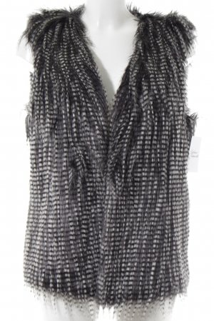 Rino & Pelle Chaleco reversible blanco puro-gris oscuro look casual