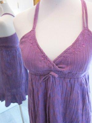 Rip Curl Kleid  Lila Gr XS dünne Träger V Ausschnitt
