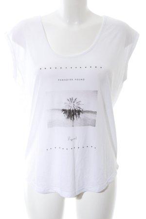 Rip curl Camisa holgada blanco estampado temático look casual