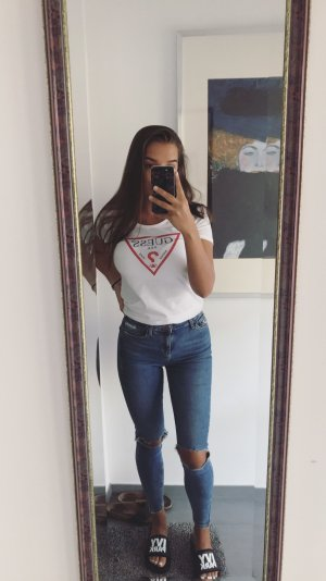 Ripped Jamie Jeans Topshop