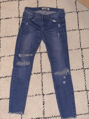 Tally Weijl Low Rise Jeans blue