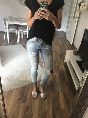 Ripped Jeans blau Only