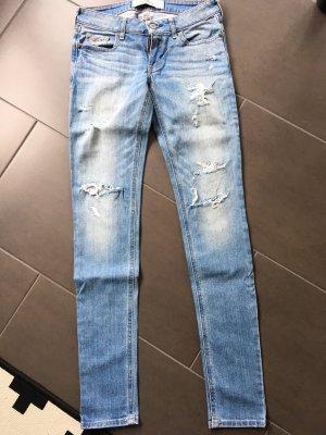 Hollister Jeans skinny azzurro-blu