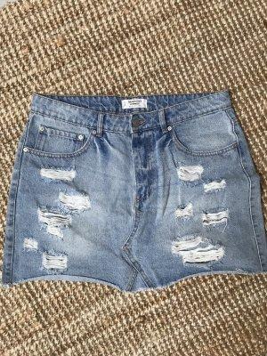 Mango Gonna di jeans blu