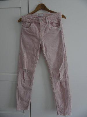 Zara Jeans boyfriend rose clair