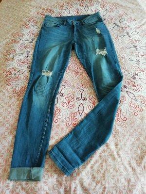 s.Oliver Biker Jeans multicolored cotton