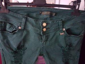 Jeans slim multicolore