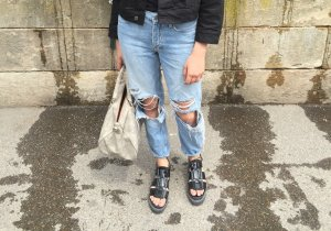 Ripped jeans TOPSHOP