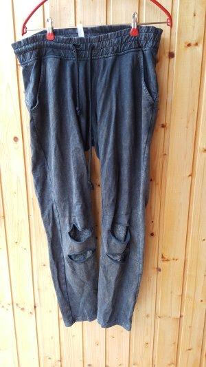 Rainbow Sweat Pants multicolored polyester