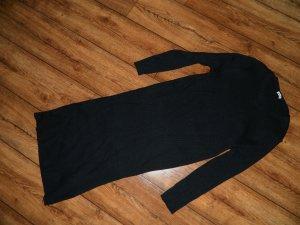Rippenstrick-Kleid Gr. M schwarz von Pimkie