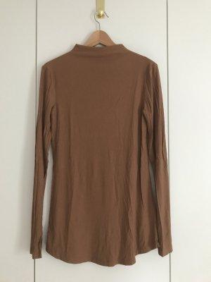 H&M Ribbed Shirt brown