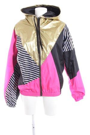 Giacca antistrappo color block Stile anni '80