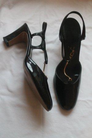 RISQUÈ USA * Vintage * Lackpumps * T-Steg * original 60er Jahre * kaum getragen *