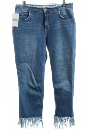 River Island 7/8 Jeans blau Casual-Look