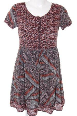 River Island A-Linien Kleid abstraktes Muster
