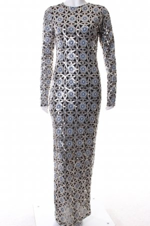 River Island Abendkleid abstraktes Muster extravaganter Stil