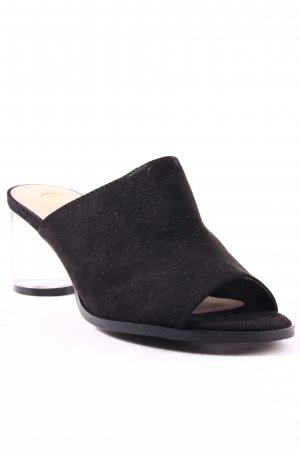 River Island Heel Pantolettes black-beige street-fashion look