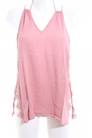River Island ärmellose Bluse pink Casual-Look