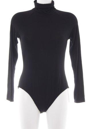 River Island Bodyblouse zwart simpele stijl