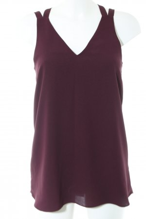 River Island Blusentop rot Casual-Look