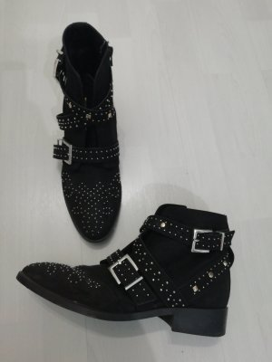 River Island Ankle Boots black