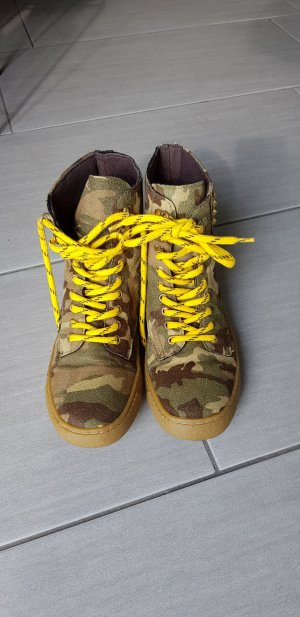 river Island Boots chucks Camouflage gr.37