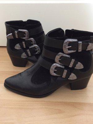 River Island Boots schwarz