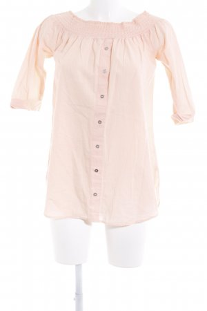 River Island Carmen blouse nude casual uitstraling