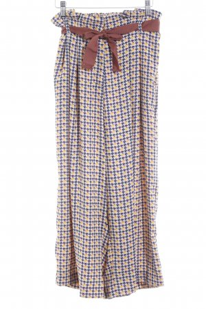 River Island Culottes abstract pattern retro look