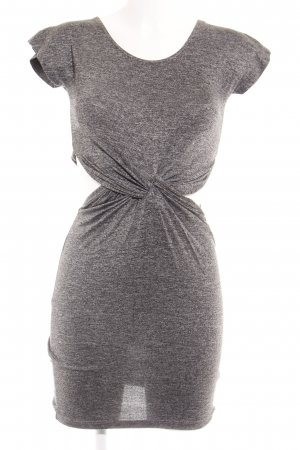 River Island Cut-Out-Kleid anthrazit meliert Casual-Look