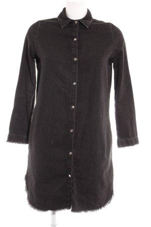 River Island Shirtwaist dress dark grey casual look