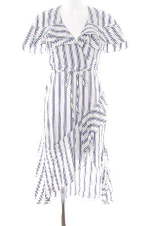 River Island Hemdblusenkleid Streifenmuster Street-Fashion-Look