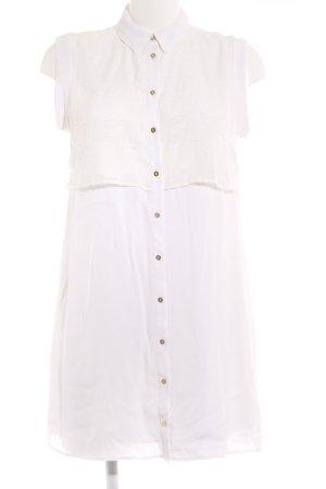 River Island Shirtwaist dress white flower pattern casual look