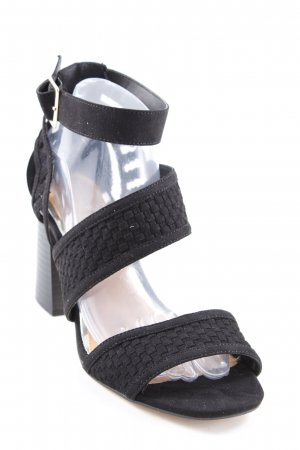 River Island High Heels schwarz Party-Look