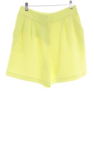 River Island High-Waist-Shorts limettengelb Casual-Look