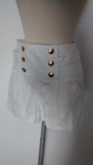 River Island Hotpant Hotpants Shorts Panty retro Rockabilly weiß Gr. UK 6 EUR 32