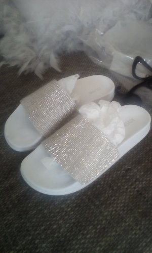River Island Outdoor Sandals white