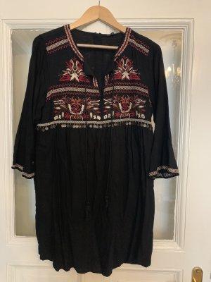 River Island Robe Hippie noir-bordeau