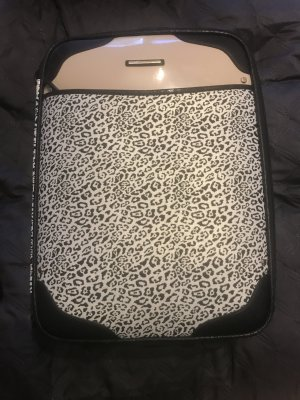 River Island Koffer Leopardenmuster Handgepäck Carry On