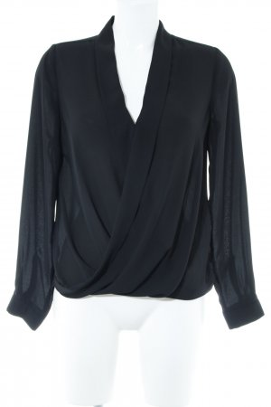 River Island Langarm-Bluse schwarz Elegant