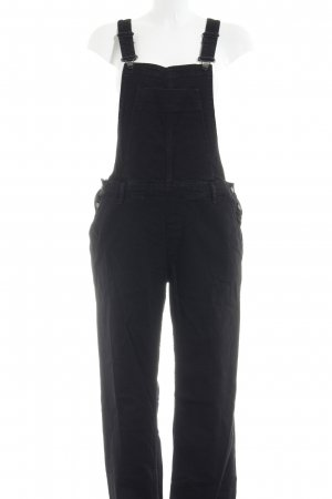 River Island Dungarees black jeans look