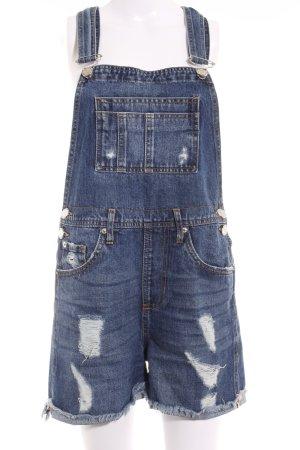 River Island Jeans met bovenstuk donkerblauw-azuur casual uitstraling