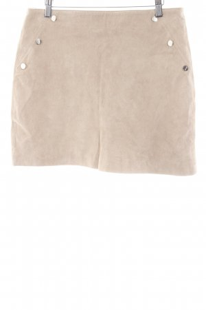 River Island Leather Skirt beige casual look